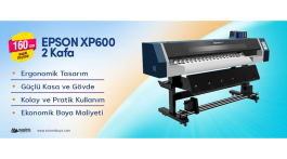 Epson XP600 Eco-Solvent Makine
