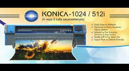 KONICA – 1024 / 512İ Dijital Baskı Makinesi