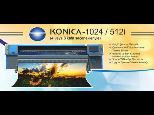 Dijital Baskı Makinesi KONICA - 1024
