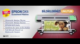 Epson DX5 Eco Solvent Dijital Baskı Makinesi