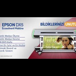 Epson DX5 Ecosolvent Dijital Baskı Makinesi